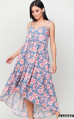 Платье Джитта, Серый - фото 1