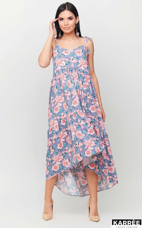 Платье Джитта, Серый - фото 3