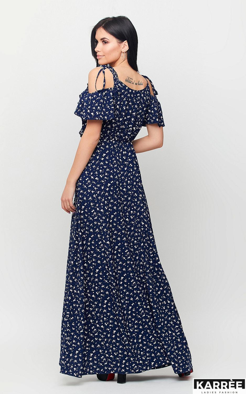 Платье Талли, Темно-синий