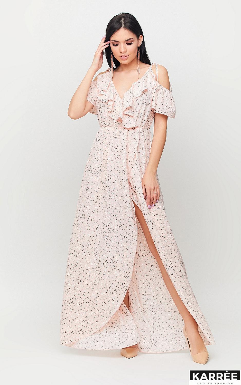 Платье Талли, Персик