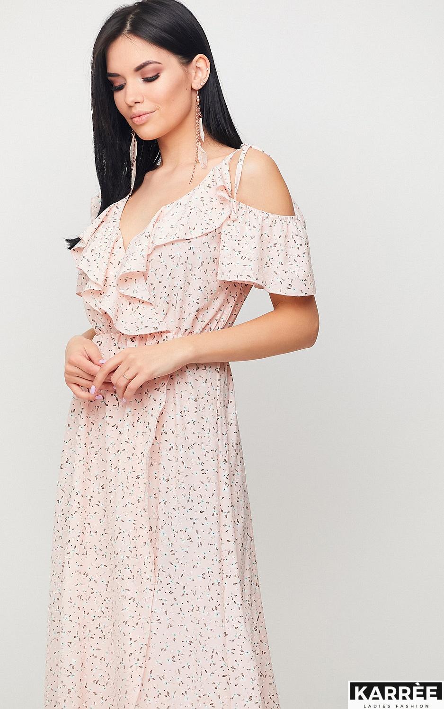 Платье Талли, Персик - фото 3