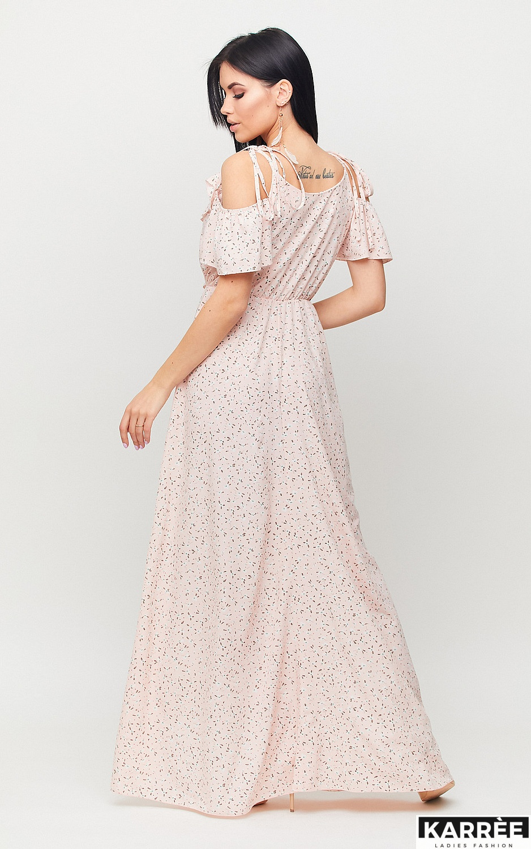 Платье Талли, Персик - фото 4