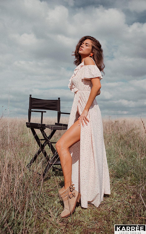 Платье Талли, Персик - фото 5