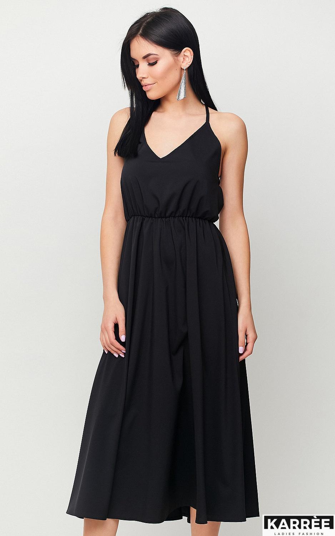 Платье Андре, Черный - фото 3