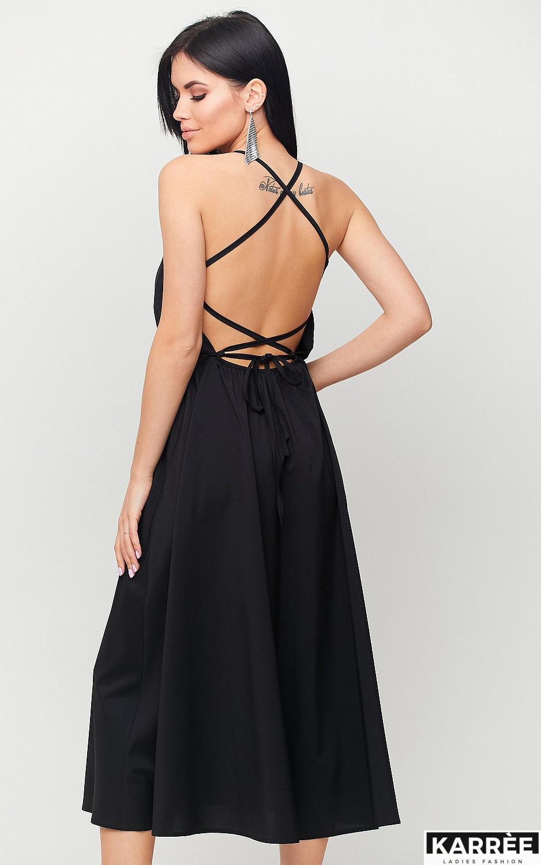 Платье Андре, Черный - фото 2