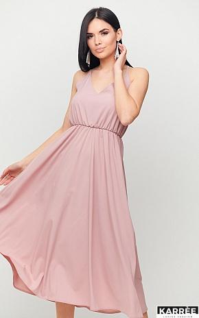 Платье Андре, Пыльно-розовый - фото 1
