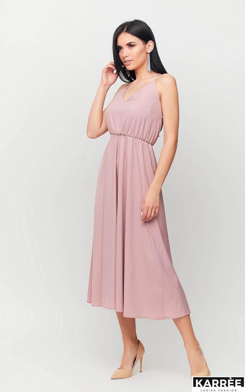 Платье Андре, Пыльно-розовый - фото 3
