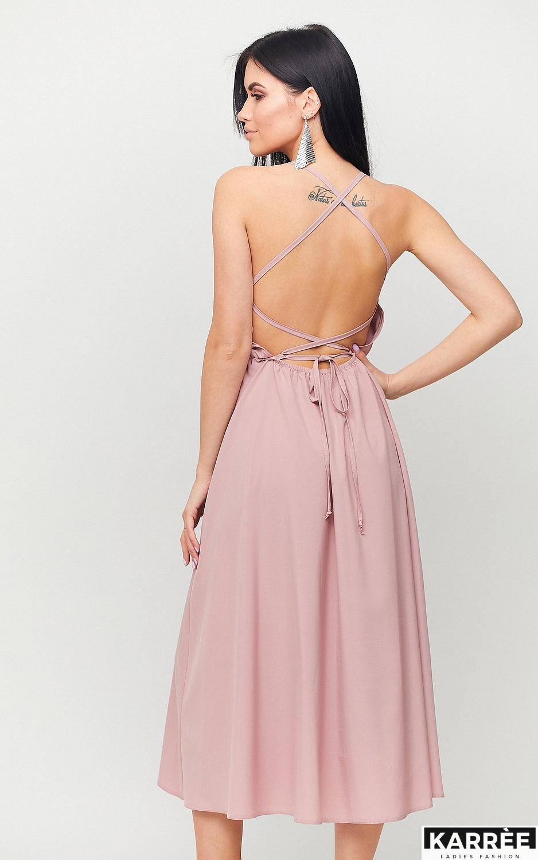 Платье Андре, Пыльно-розовый - фото 2