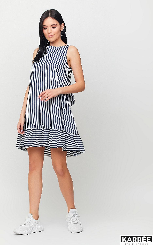 Платье Дарина, Черный - фото 2