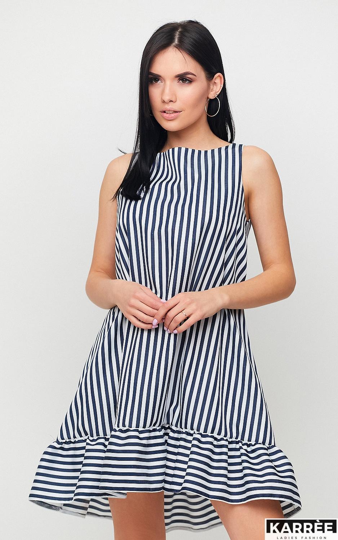 Платье Дарина, Черный - фото 3