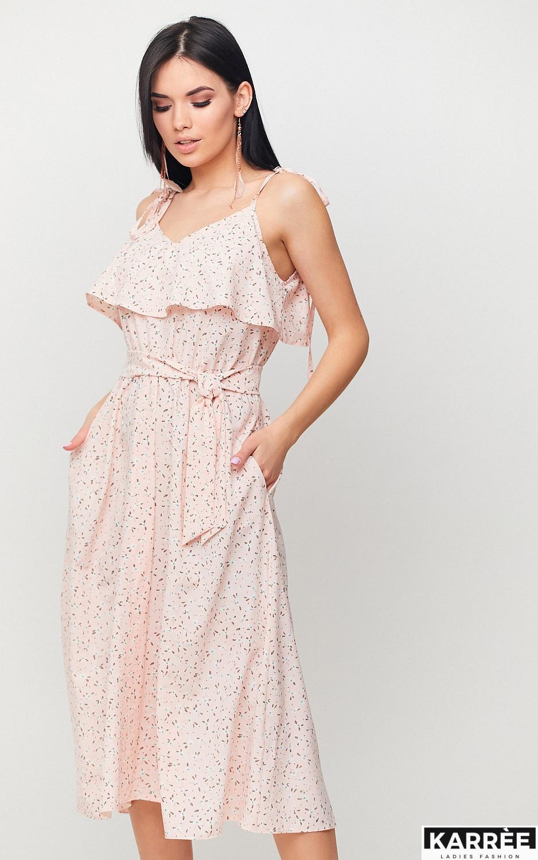 Платье Блейк, Персик