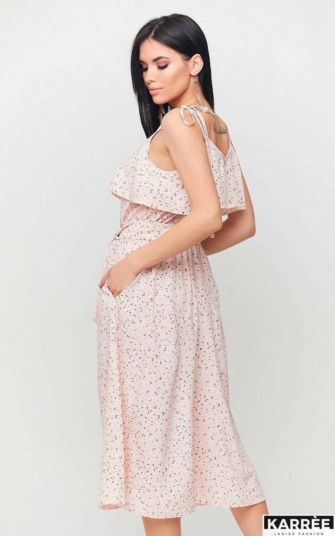 Платье Блейк, Персик - фото 3
