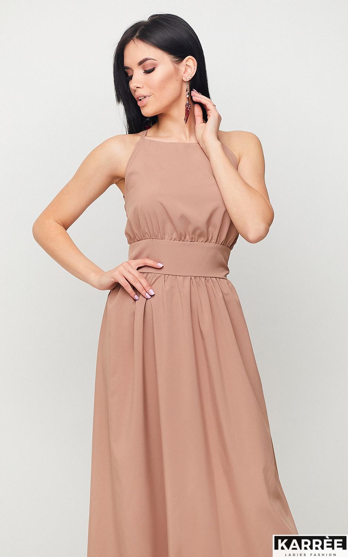 Платье Лион, Мокко - фото 3