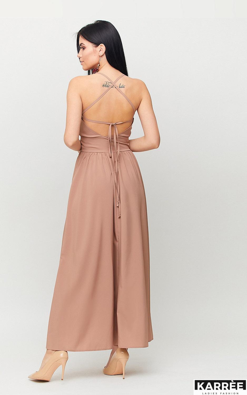Платье Лион, Мокко - фото 2