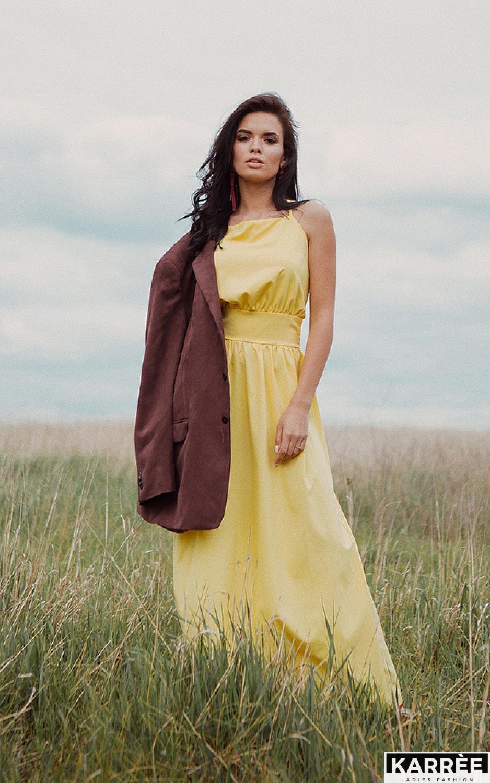 Платье Лион, Желтый