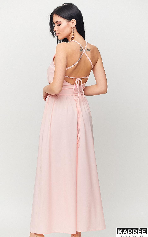 Платье Лион, Персик