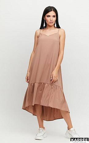 Платье Симона, Мокко - фото 1