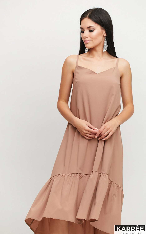Платье Симона, Мокко - фото 2