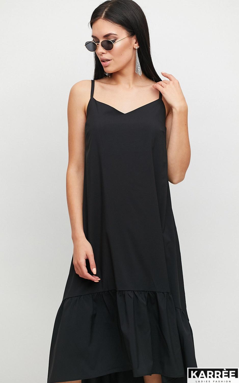 Платье Симона, Черный