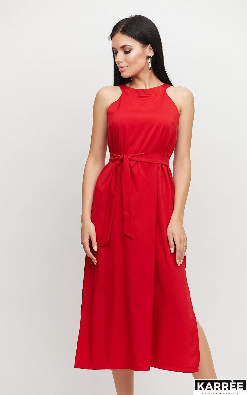 Платье Бритни, Красный - фото 2