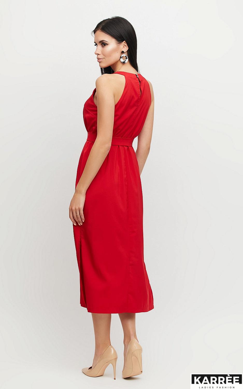 Платье Бритни, Красный - фото 3