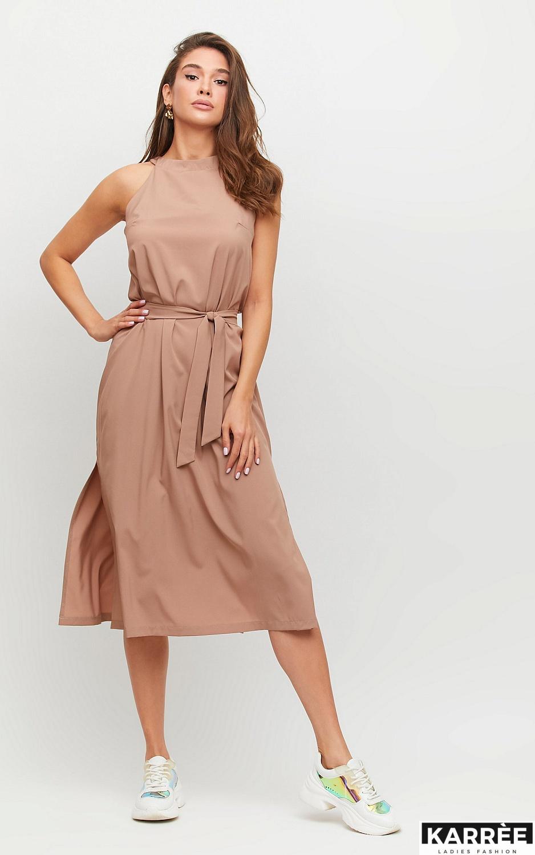 Платье Бритни, Мокко - фото 3