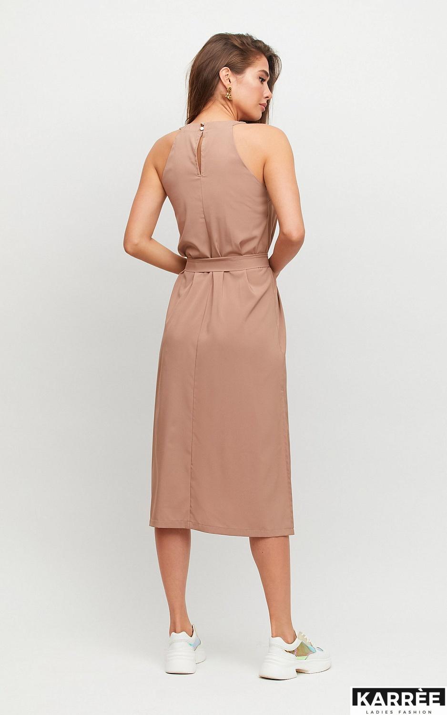 Платье Бритни, Мокко - фото 2