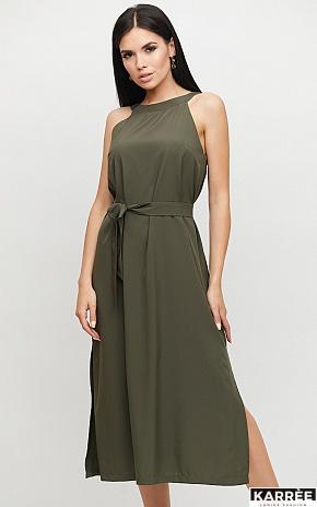 Платье Бритни, Хаки - фото 1