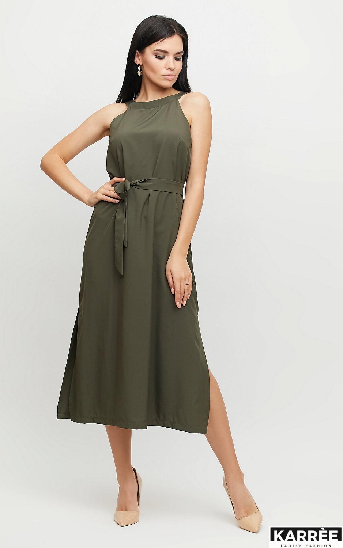 Платье Бритни, Хаки - фото 3