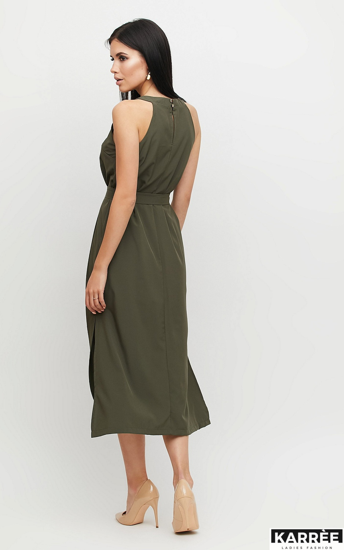 Платье Бритни, Хаки - фото 2
