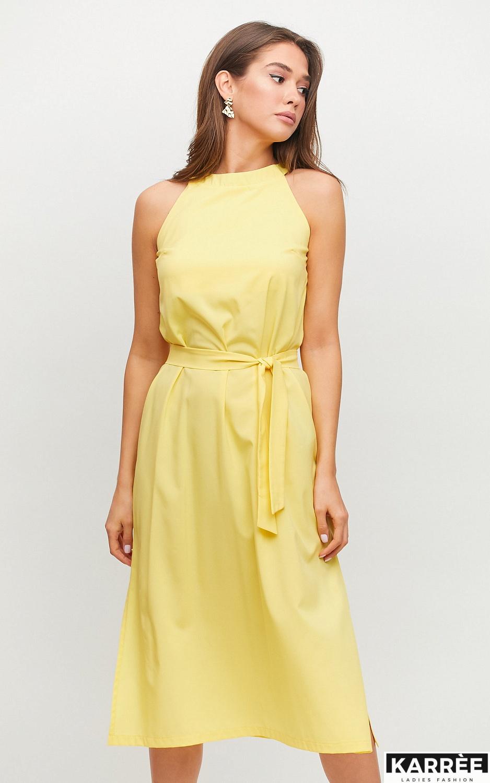 Платье Бритни, Желтый