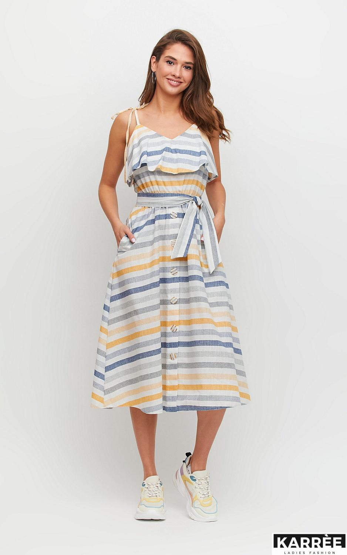 Платье Бри, Желтый - фото 3