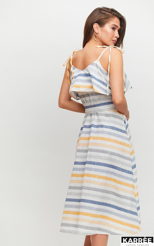 Платье Бри, Желтый - фото 2