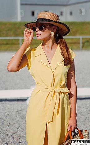 Платье Брауни, Желтый - фото 1