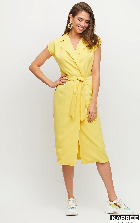 Платье Брауни, Желтый - фото 2