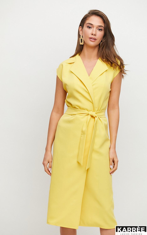Платье Брауни, Желтый - фото 3