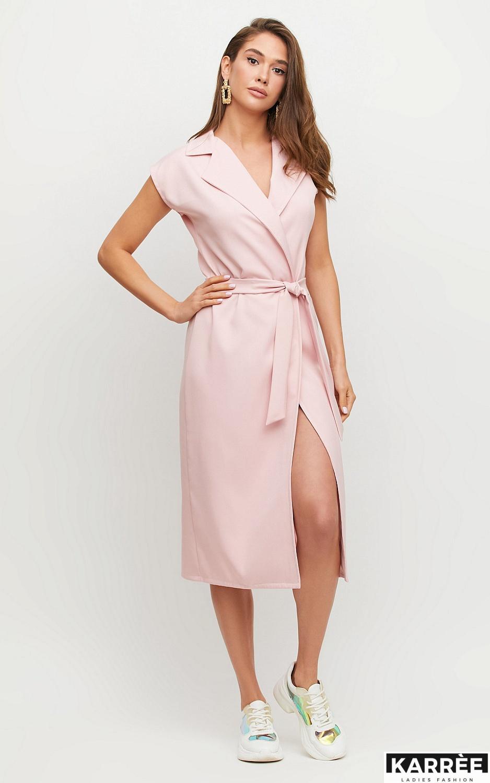 Платье Брауни, Пудровый - фото 3