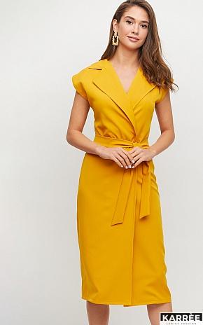 Платье Брауни, Горчичный - фото 1