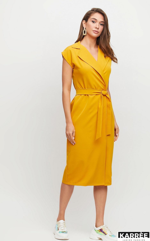 Платье Брауни, Горчичный - фото 3