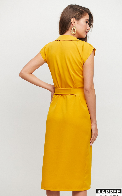 Платье Брауни, Горчичный - фото 2