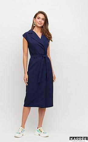 Платье Брауни, Темно-синий - фото 1