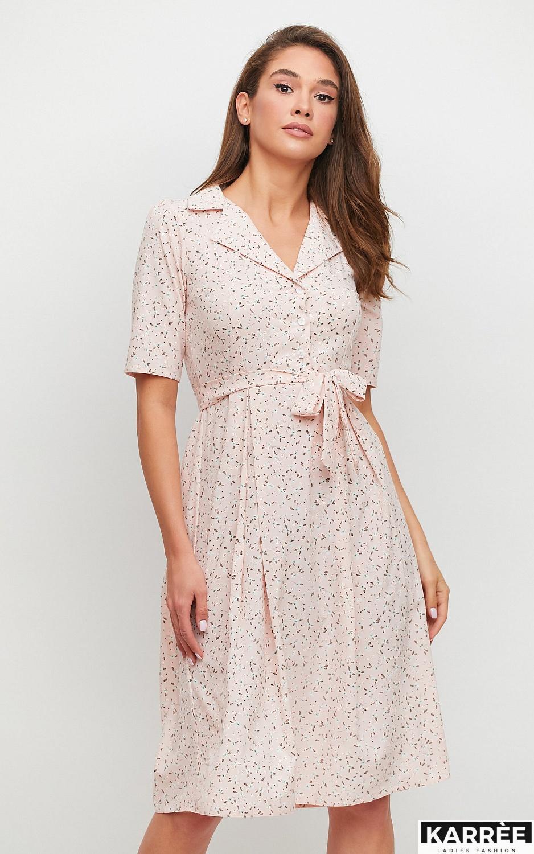 Платье Монила, Персик - фото 2