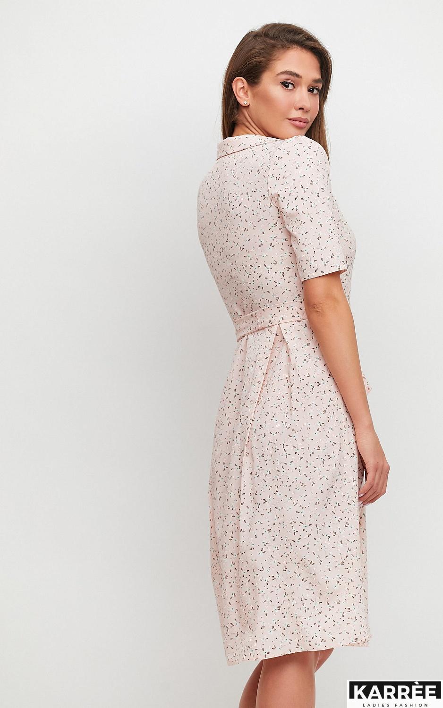 Платье Монила, Персик - фото 3