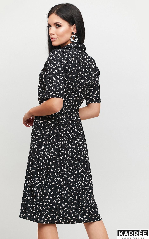 Платье Монила, Черный