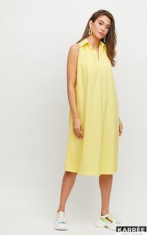 Платье Сирена, Желтый - фото 1
