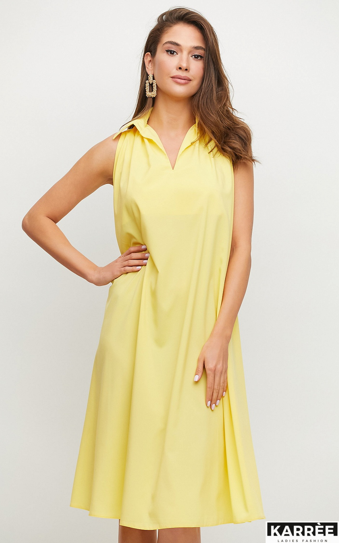Платье Сирена, Желтый - фото 2