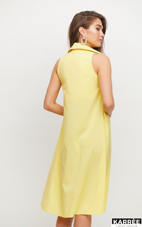 Платье Сирена, Желтый - фото 3