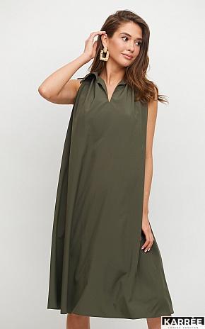 Платье Сирена, Хаки - фото 1