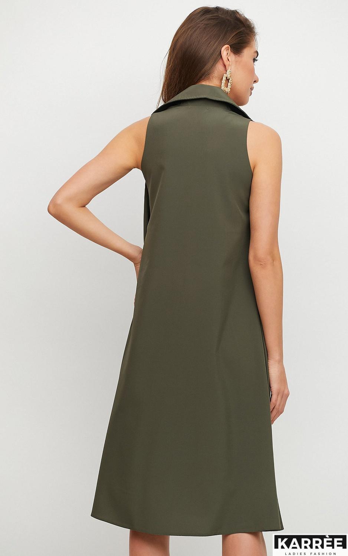 Платье Сирена, Хаки - фото 2