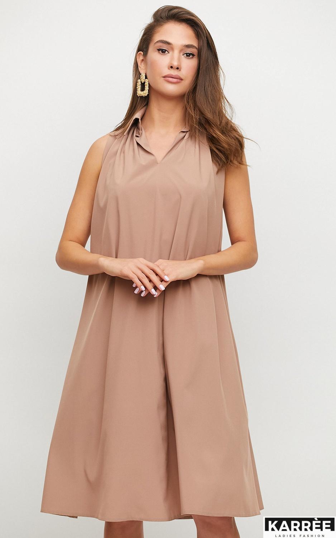 Платье Сирена, Мокко - фото 2